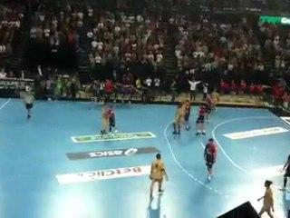 Fin de match Montpellier - Chambéry