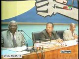 Poursuite des travaux préparatoires du 6ème congrès extraordinaire du PCT