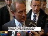 DSK : Delanoë appelle à être attentif à la vérité