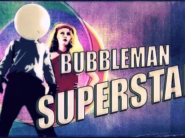 "Bubbleman Superstar ""MISSION MOUCHE A MERDE"" de Alban Gily et Julien Vray"