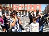 Flashmob à Nice : Freeze étudiant