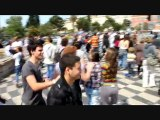 Making off Flashmob à Nice : freeze étudiant