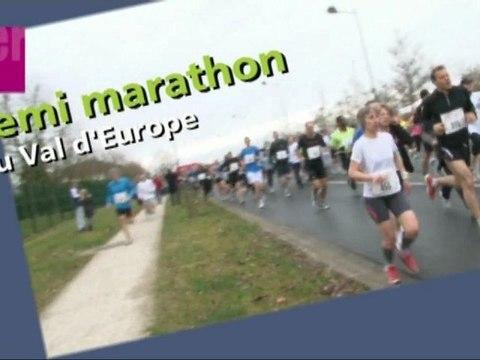 1er Semi-marathon du Val d'Europe 2011 - Inscrivez-vous !