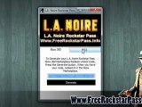 L.A. Noire Rockstar Pass code Leaked - Xbox 360 / PS3