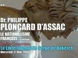Philippe Ploncard d'Assac: Le Nationalisme Français 2 (3/3) - Radio Courtoisie