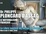 Philippe Ploncard d'Assac: Le Nationalisme Français 2 (1/3) - Radio Courtoisie
