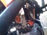 démarrage KTM difficile