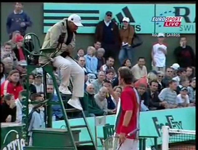 Point Magnifique de Safin vs Mantilla à Roland Garros