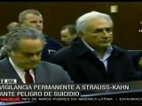 Vigilancia permanente a Dominique Strauss-Kahn