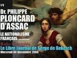 Philippe Ploncard d'Assac: Le Nationalisme Français 3 (1/3) - Radio Courtoisie