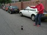 Coca light + mentos