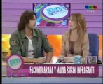 DiarioVeloz.com-Facundo Arana y María Susini in fraganti