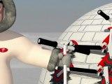 IWL Ingenico : animation 3d cartoon en images de synthèse
