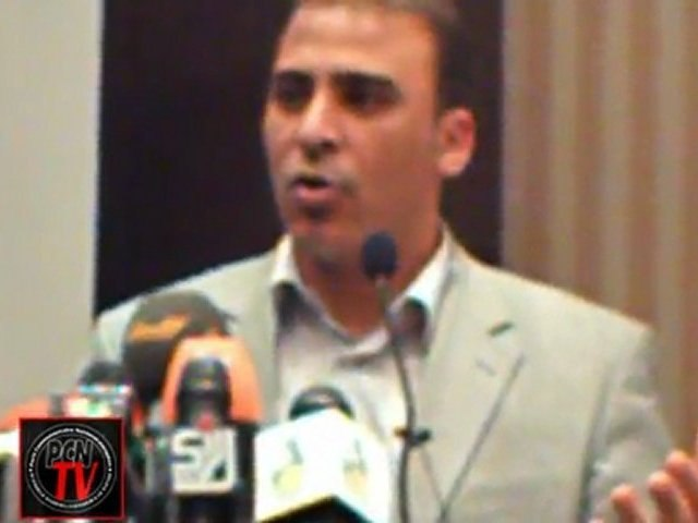 [PCN-TV]  Conference HANDS OFF LIBYA / Opening speeches of Dr Moussa Ibrahim & Luc Michel (17 april 2011- Tripoli)