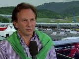 Formula 1 2011 - Red Bull Racing - Interview at the Red Bull Ring - Christian Horner