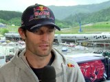 Formula 1 2011 - Red Bull Racing - Interview at the Red Bull Ring - Mark Webber