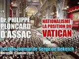 Philippe Ploncard d'Assac: Vatican & Nationalisme (1/3) - Radio Courtoisie