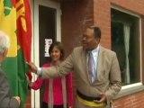 Bertin Mampaka inaugure le Brussels Open  (TéléBruxelles)