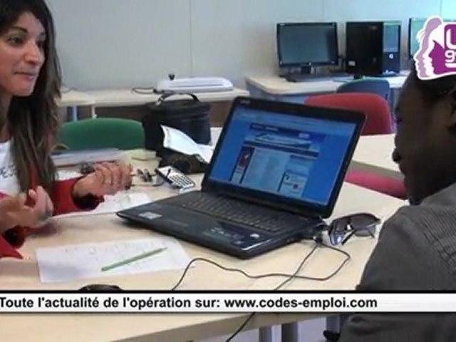 Naïma Ouazene, coach en image et en look pour Codes Emploi 2011