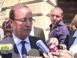 Hollande: à DSK de dire s'il peut être candidat