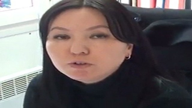 """KGZ :: OBS :: Testimony of Aida Baydzhumanova, Executive Director Human Rights Center """"Citizens Against Corruption"""" in Kyrgyzstan, about the case of Azimjan Askarov, human rights defender from Bazar Korgon in arbitrary detention"""