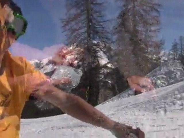 David Pace Team Snowscoot Praloup