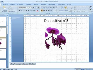 Différents modes dans Microsoft Powerpoint