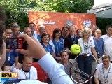 Babolat fête sa promotion à Roland Garros