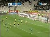 Το γκολ του Ζιλμπέρτο στο ΑΕΚ - ΠΑΟ 2-3