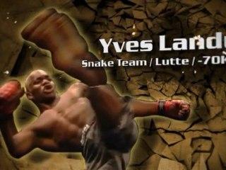 100%FIGHT 5 - reportage YVES LANDU