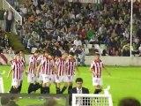 Racing de Santander 1 - 2 Athletic Club. Gol de David López, el arte de lanzar una falta.