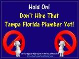 Best Tampa Florida Plumber and Tampa Florida Plumbing