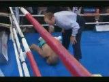 Roy Jones Jr Gets Brutally Knocked Out By Denis Lebedev In Russia!