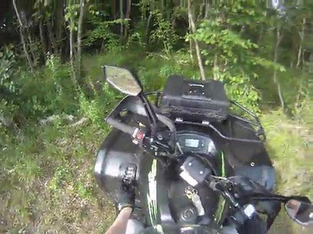 quad masai 700 et kymco 500  essais mai 2011