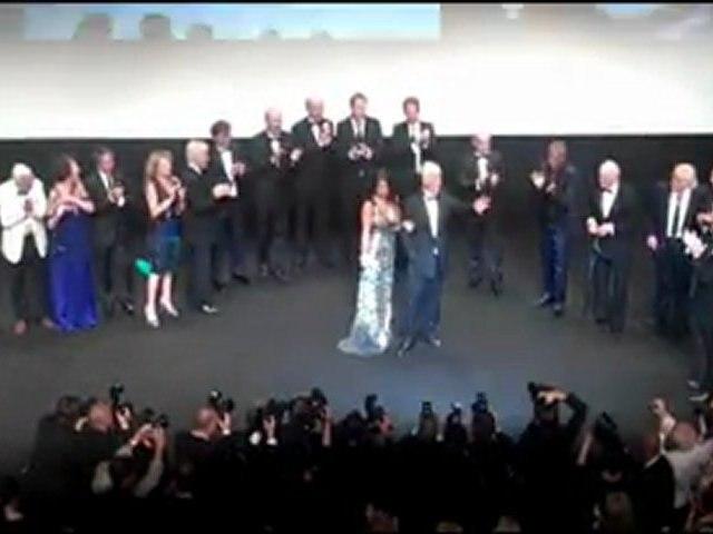 Soirée hommage à Jean-Paul Belmondo - Cannes 2011