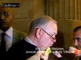 Clearstream : pour l'avocat de Villepin, le parquet est aux ordres de Sarkozy