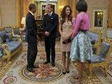 Kate Middleton chooses high street to meet Obamas