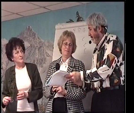 """""""L'Invincible """"et """"La Lionne"""" témoignent de leurs guérisons, le dimanche 7 avril 2002 à Marseille avec Claude SABBAH"""
