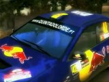 RBR Richard Burns Rally Car GrN Evo 9 IX N4 Slow Motion Blur Effect On Gravel No sound Only Music