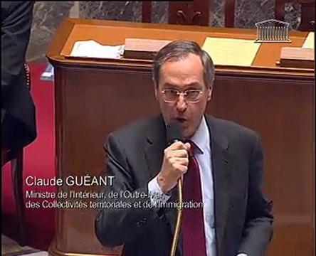 Question de Guy DELCOURT à Claude GUEANT