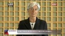Évènements : Conférence de presse de Christine Lagarde