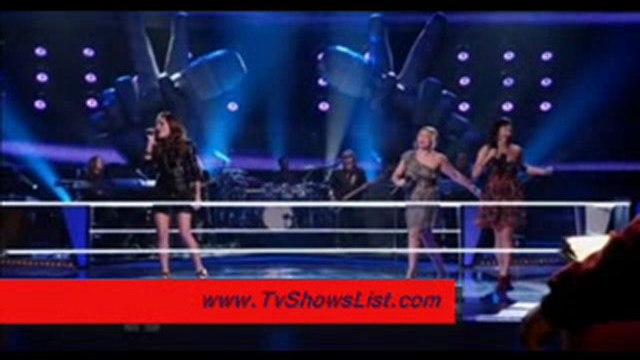 """The Voice Season 1 Episode 5 """"The Battles, Part 3"""" 2011"""