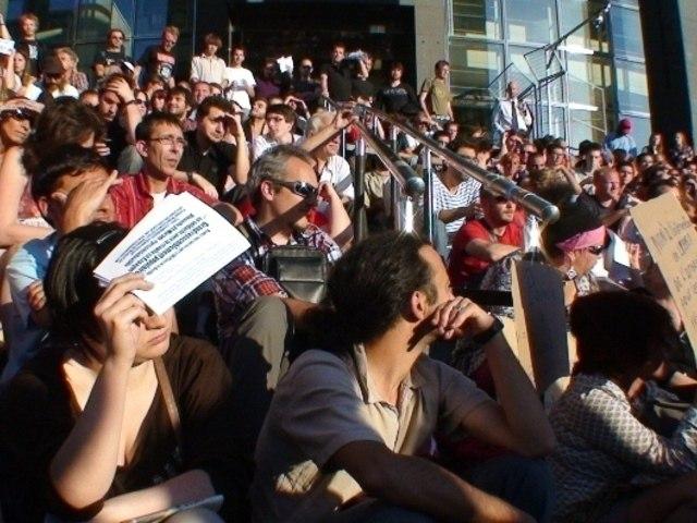 Frenchrevolution, Acampada de Paris, AG du 25 mai 2011