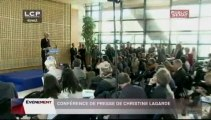 EVENEMENT,Annonce de la candidature de Christine Lagarde à la tête du FMI
