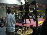 "London INC vs Brett  ""The Kraft"" Meadows & Sam Knee Main Event for the new HEW Tag Team Titles"