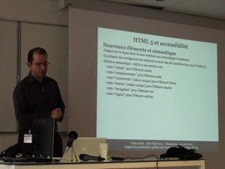 HTML 5, CSS 3 et accessibilité (Kiwi Party 2011)