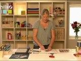 Utiliser un gabarit pour scrapbooking - Tuto loisirs créatifs