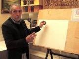 démo de cours de dessin et de peinture sur la toile