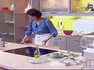cuisine de Choumicha - brochette cube de dinde