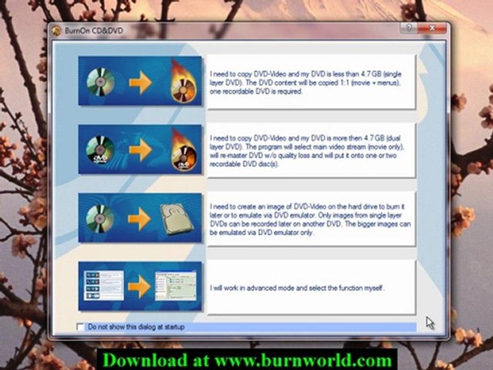 How to use BurnOn CD/DVD to Copy a DVD Disc